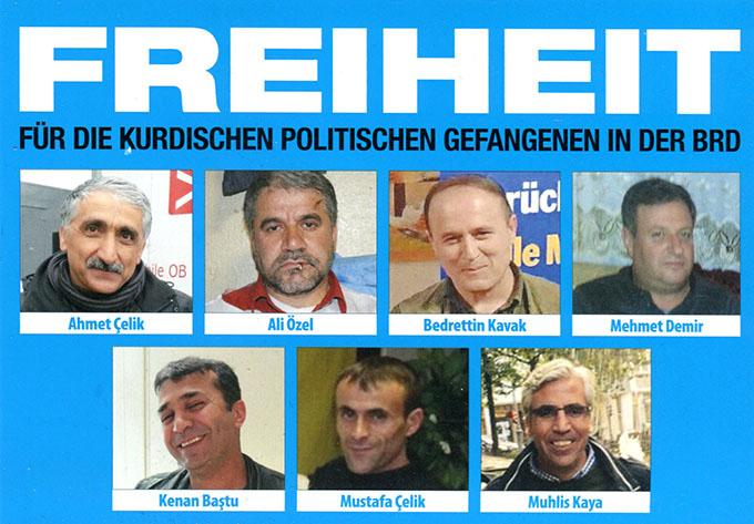 Freiheit für die politischen Gefangenen in der BRD